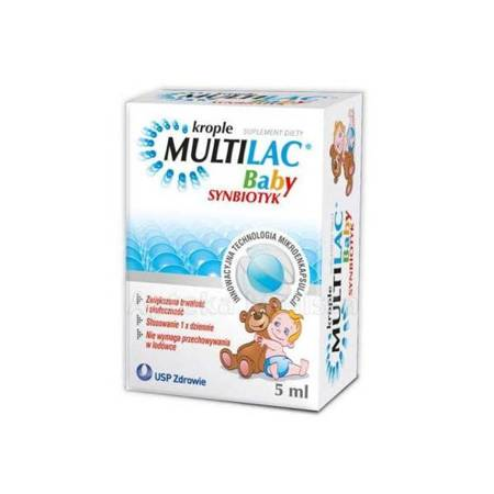 Multilac Baby Krople 5ml